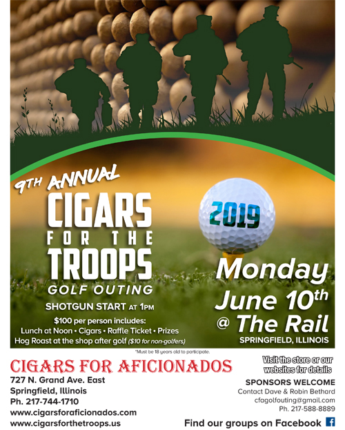 2019 Cigars for the Troops Brochure